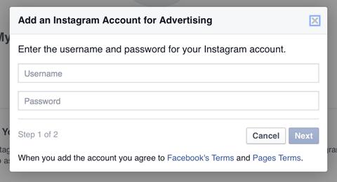 11-Business Manager'a girmek için Instagram hesabına giriş